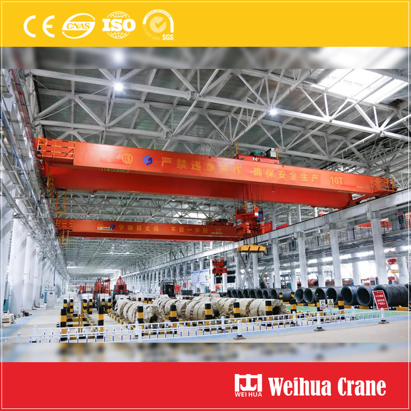 Unmaned Factory Steel Bar Crane
