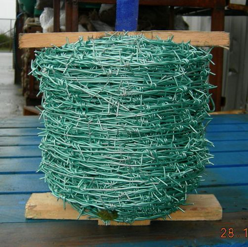 Pvc-coated And Galvanized Barbed Wire