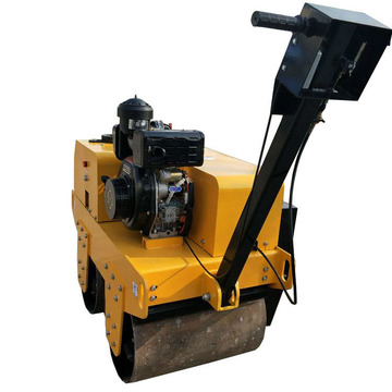 handheld vibratory construction road roller