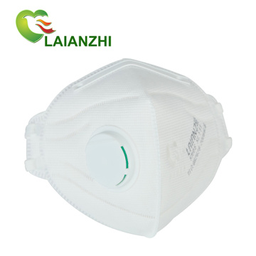 FFP3 Kn95 Foldable Valved Non-Woven Mask 3Layers Protection