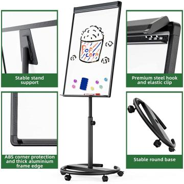 Mobile Round Based Whiteboard easel 24x36inches Amazon us