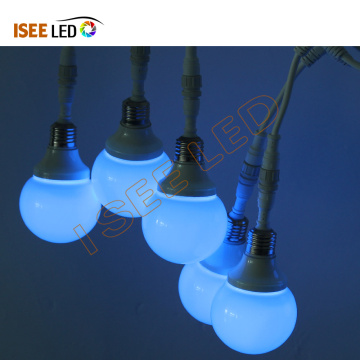 80mm Diameter Indoor Dancing Holiday Led RGB Bulb