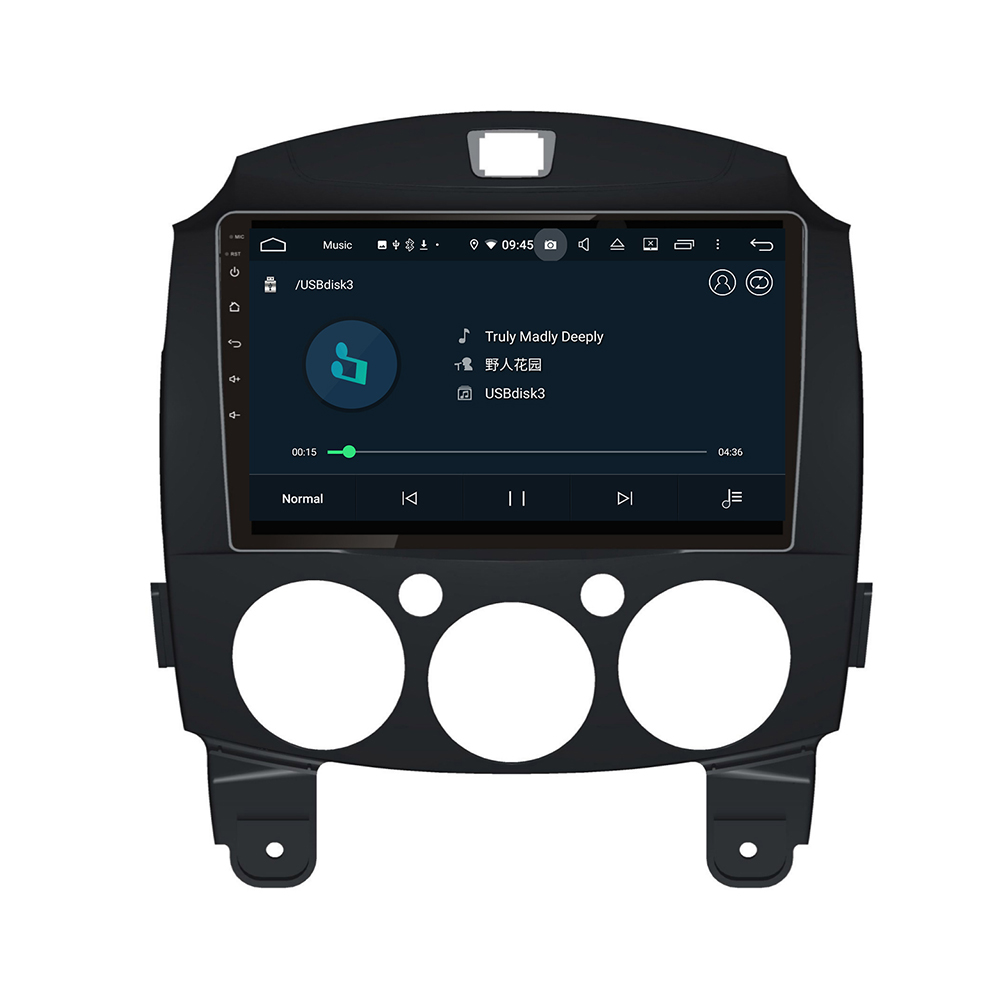 New Android System For Mazda 2