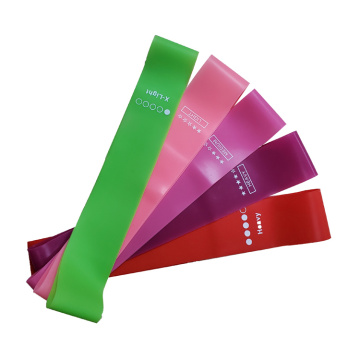 5 Loop Fintness Latex Resistance Bands Set
