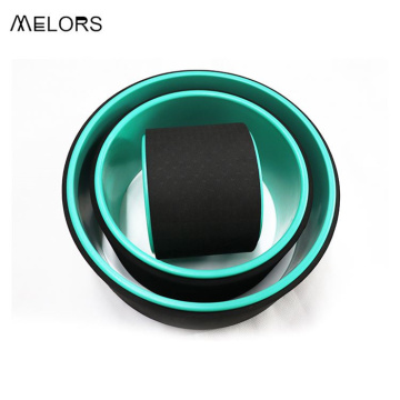 Melors Hot Sell Pilates Yoga Wheel Set