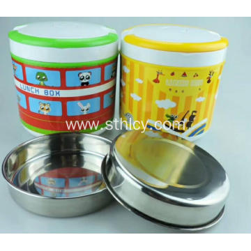 Thermal Insulated Stainless Steel Food Container Set