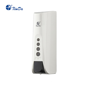 White soap dispenser with anti-theft function