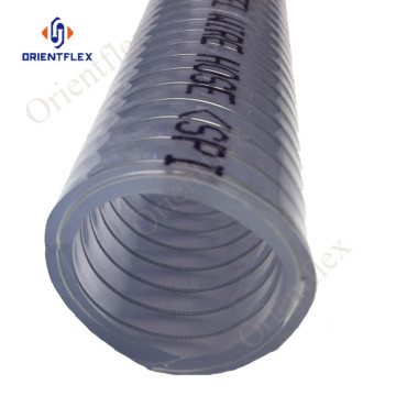 uv resistant non-toxic steel wire spiral flexible hose