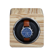 watch roll winder with leather