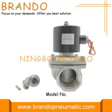 2S400-40 Electric Solenoid Valve for water gas