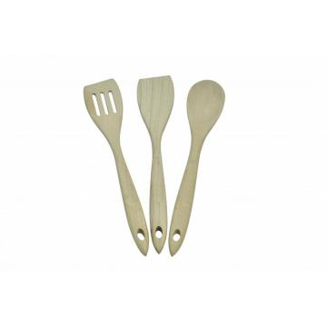 Wooden 3 Piece Cooking Utensils Set