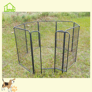 Outdoor Gardening Metal Folding Pet Cage Playpen