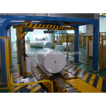 Fully Automatic Paper Rolls Stretch Wrapping Machine