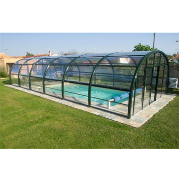 Retractable Enclosure Cover Swimming Pool Safety Cover