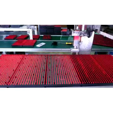 single red LED display screen