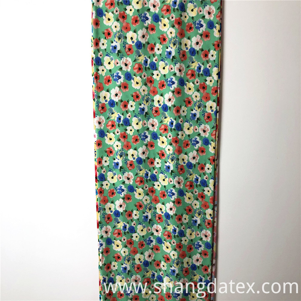 Small Flower Rayon Printed