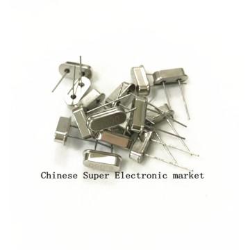 10PCS Crystal Oscillator 6MHz 6 MHz 6M Hz Mini Passive Resonator Quartz HC-49S