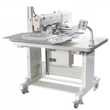 Automatic hole punching sewing machine