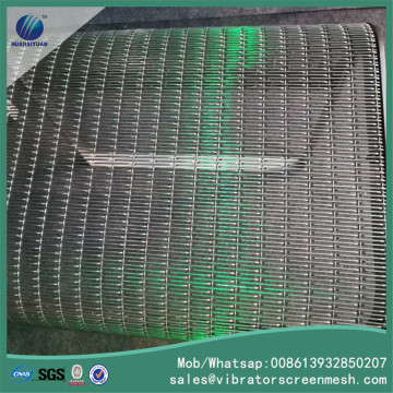 Hotel Decorative Woven Wire Mesh