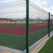 Galvanized Welded Metal Triangle Bending 3D Fence Panels