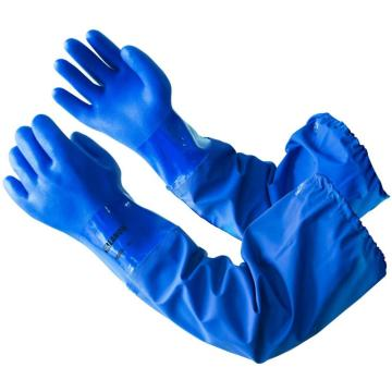 Customization length PVC coated gloves