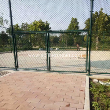Basketball Field PVC Frame Chain Link Fencing