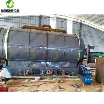 Zhongming Beston Pyrolysis Plant Description How to Make Crude Oil from Plastic
