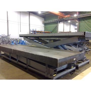 Warehouse material lift hydraulic