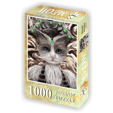 GIBBON Jigsaw Puzzle So Puuuurty 1000 Pieces Assorted