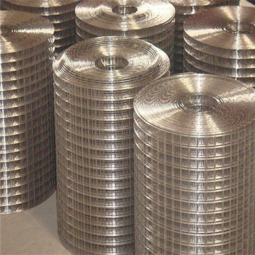 Hot dipped galvanized welded wire mesh net