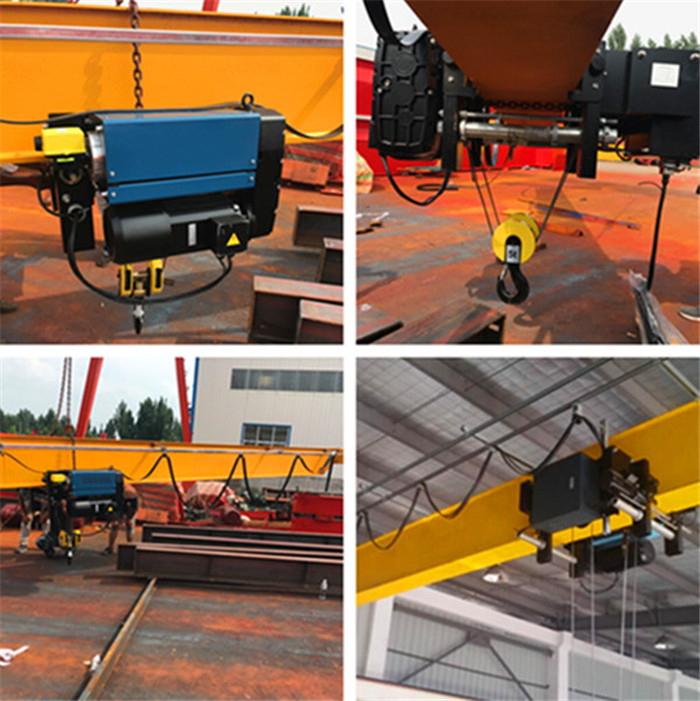 Low Headroom crane with Electric Hoist