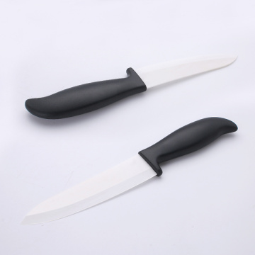 6 Inches ABS Handle White Ceramic Knife