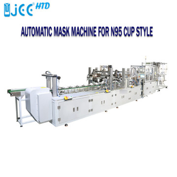 Auto cup type dust mask machine