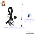 High efficiency Franka connector 12dbi 4G lte wireless wifi oscillator satellite dish antenna signal communication antenna