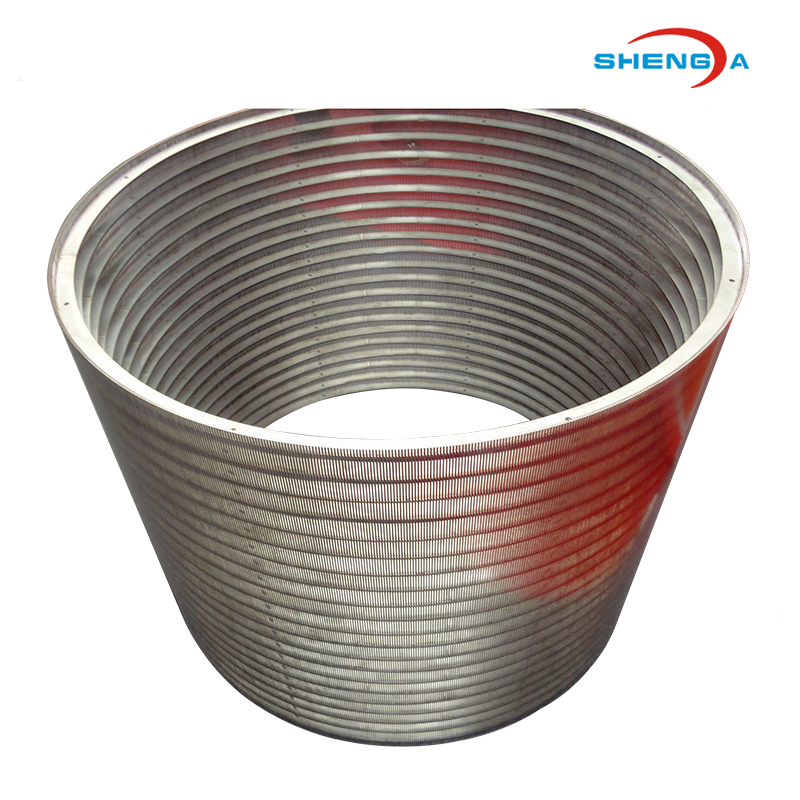 Stainless Steel Johnson Screen Basket Strainer