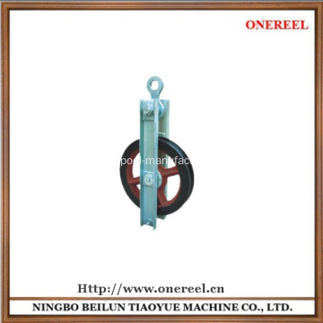 mounted pulleys for wire rope