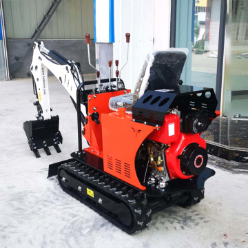 Home Use Mini Excavators 800kg With Accessories Bucket Rake Ripper