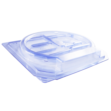 Urethral catheter set PET blue customized disposable box