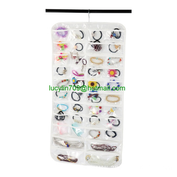 80 Pocket Wall Mount Jewelry Holder