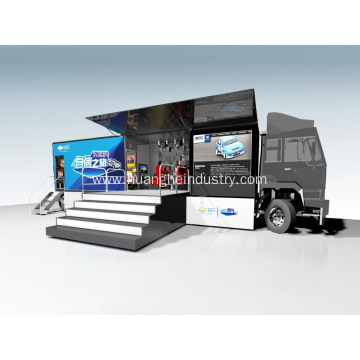 Animation Function LED Mobile Stage Truck