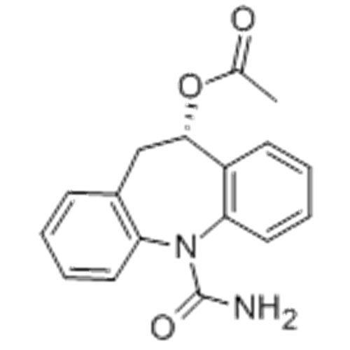 5H-Dibenz[b,f]azepine-5-carboxamide, 10-(acetyloxy)-10,11-dihydro-,( 57251516,10S)- CAS 236395-14-5