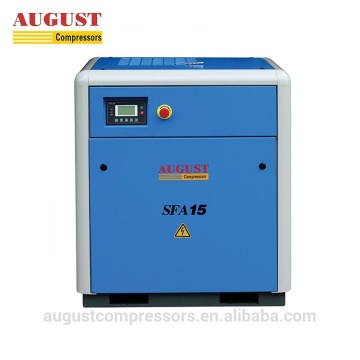 15KW 20HP stationary air cooled screw air compressor
