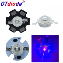 5PCS UV LED for Nail Dryer GEL High Power Beads 3W Light Emitting Diode Lamp Diodo 3-Watt Purple 395nm Ultra-violet