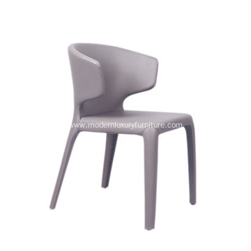 Cassina 367 HOLA Leather Chair for Dining Room