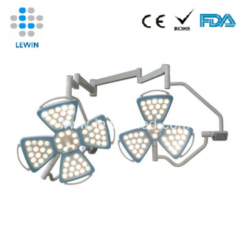 Double arms led surgical light optional UPS