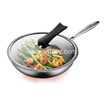 304 Stainless Steel Non-Stick Wok Pan