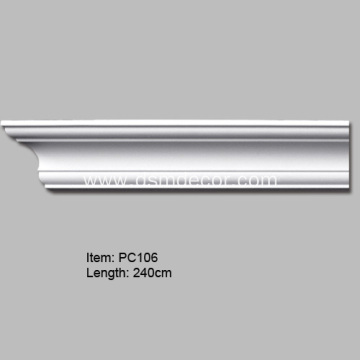 Architectural Polyurethane Plain Crown Molding