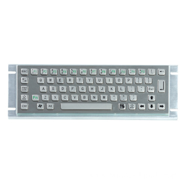 Waterproof IP65 Metal Keyboard for Information Kiosk
