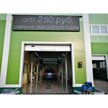 Building a automatic car wash shop business