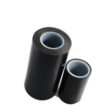 0.16mm Black PTFE  Adhesive Tapes Without Liner